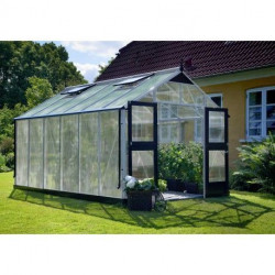 Serre de jardin JULIANA Premium 13 m2 + polycarbonate 10 mm